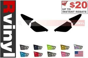 Rtint Headlight Tint Precut Smoked Film Covers For Toyota Celica 2000 2005