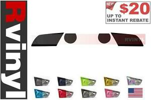 Rtint Headlight Tint Precut Smoked Film Covers For Ford Mustang 2010 2014