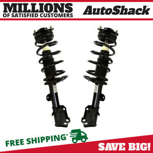 Front Complete Strut Pair For 2008 2009 2010 Dodge Grand Caravan Town Country