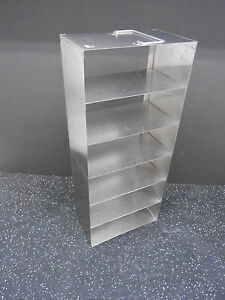 Six Compartment Cryogenic Tank Stainless Steel Storage Rack 21 5 X 5 5 X 9 25