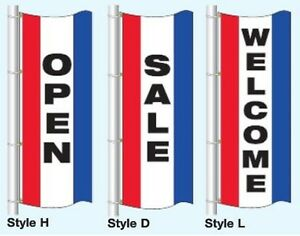 Open sale welcome Free Flying Vertical Flag 3ftx8ft Tricolor