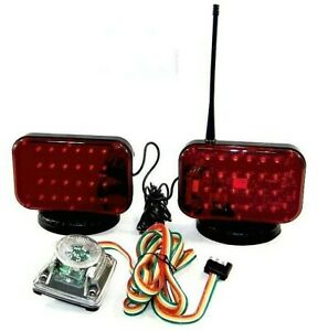 12v Magnetic Tow Lights 48 Led s 12 Volts Cordless Towing Truck Led Light Set