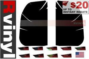 Rtint Tail Light Tint Precut Smoked Film Covers For Ford F 350 2008 2015