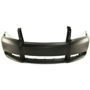 2008 2010 Dodge Avenger Front Bumper Cover Primed With Out Fog Lamp Hole