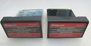 2007 Snap On Mt2500 Scanner Programmable Cartridges W European Mt2500 Vci