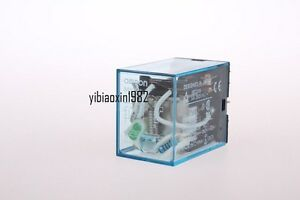 1 Pcs My3nj Hh53p Dc 12v Coil 11 Pin Terminals 3pdt Power Electromagnetic Relay