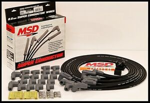 Msd Super Conductor Universal Wires Black 90 Boots Msd 31233 black Wires