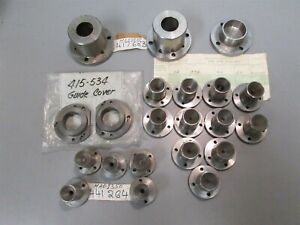 10 Lbs Swiss Automatic Manhurin Max 45 60 Spindle Guide Bushing Covers
