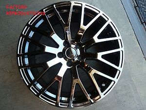 4 19 Stagger Mustang Gt Performance Style Fits 2005 2017 Black Chrome Wheels