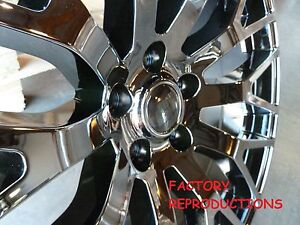 4 20 Stagger Mustang Gt Performance Style Fits 2005 2017 Black Chrome Wheels