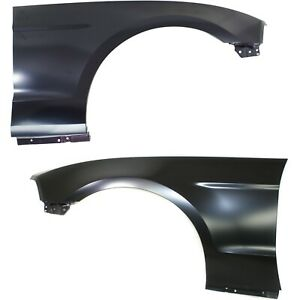 Fender Set For 2010 14 Ford Mustang Left Right W mudguard Provisions Capa 2pc