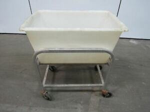 New Age Industrial 99271 4 Bushel Capacity Bulk Restaurant Bus Material Cart