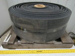 1 Ply Black Rough Top Incline Conveyor Belt 314 X 12 X 0 245 Thick