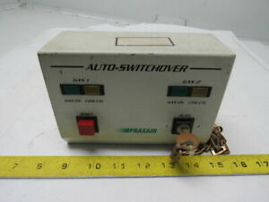 Praxair Aws 100 Gas Cylinder Reserve Auto Switchover Control Panel W key