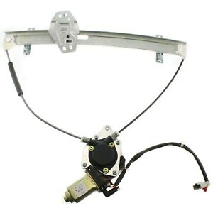 Power Window Regulator For 2001 2005 Honda Civic Front Driver Side With Motor