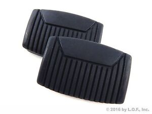 2 Fits Ford 64 08 Brake Clutch Pedal Pad Cover F150 F250 Superduty Bronco Manual