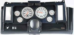 69 Camaro Carbon Dash Carrier W Auto Meter Ultra Lite Electric 5 Gauges