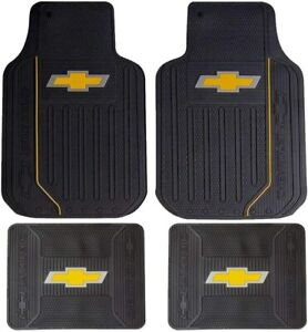 New Chevy Factory Elite Style Front Rear All Weather Rubber Floor Mats