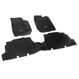 Rugged Ridge 12987 04 Floor Mats For 2007 2016 Jeep Wrangler Jk Front