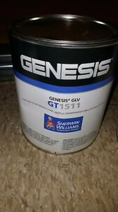 Sherwin Williams Genesis Glv Low Voc Gloss Mixing Clear Gt1511 1 Gallon