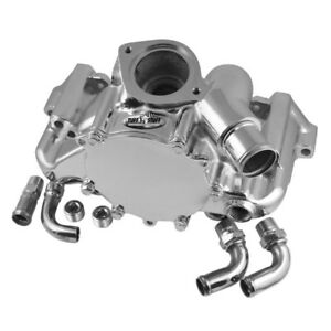 Tuff Stuff Water Pump 1362a Platinum Chrome Aluminum For Chevy 350 Lt1 5 7l