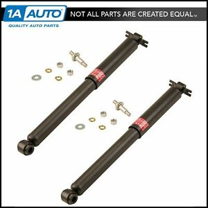 Kyb Excel G Rear Shock Absorber Pair Lh Rh Sides For Chevy Gmc Pontiac Buick