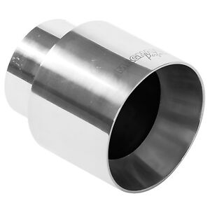 Magnaflow 35124 Exhaust Tip 2 25in Inlet 4 5 Long 4 Outlet Stainless Steel