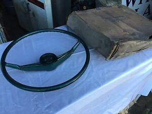 Nos 55 56 Packard Steering Wheel Clipper Green