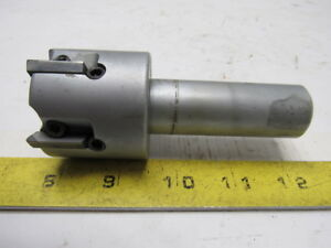 30 ssem2 0 05 rh Indexable 5 Flute 2 Dia Face end Mill Cutter