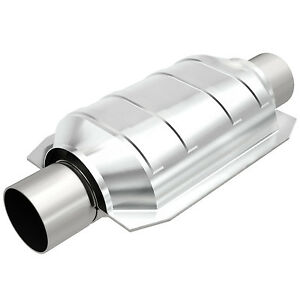 Magnaflow 91006 Universal High flow Catalytic Converter Oval 2 5 2 5 In out