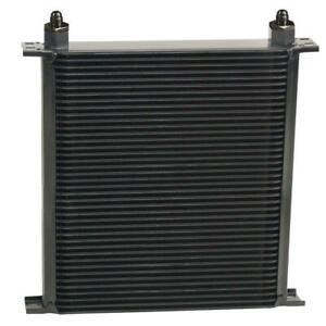 Derale Oil Cooler 54006 Series 10000 13 000 40 Row Aluminum Stacked Plate
