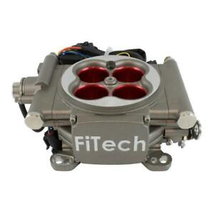 Fitech Fuel Injection System 30003 Go Street 400 Hp Throttle Body Satin Finish