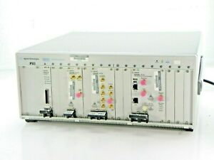 Agilent Hp Keysight M9018a Pxie Test System Includes Modules