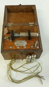 Antique Vintage Medical Device Quackery P G Williams Electric Quack Shock Box Ny