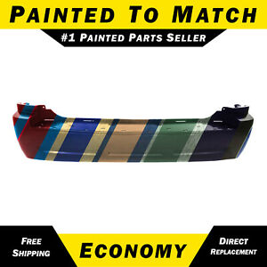 New Painted To Match Rear Bumper For 2005 2010 Jeep Grand Cherokee Laredo 05 10