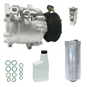 Ryc Remanufactured Ac Compressor Kit Fits Honda Civic 1 7l 2002 2003 2004 2005