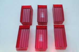 1970 Chevy Impala Rear Tail Light Lamp Back Up Lenses Right Left Hand Set Six