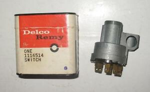 Nos 1955 1956 Chevrolet Pickup Suburban Chassiscab Truck Ignition Switch 1116514
