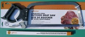 16 Stainless Steel Butcher Meat Saw With 16 Stainless Steel Replacement Blade