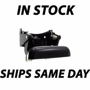 New Black Rear Tailgate Handle Assembly For 1999 2006 Chevy Silverado Gmc Sierra