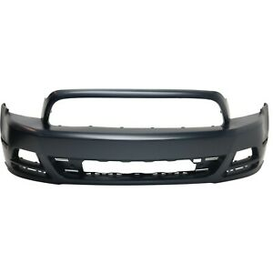 Front Bumper Cover For 2013 2014 Ford Mustang Primed Capa
