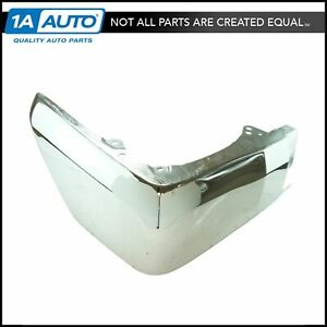 Oem Rear Bumper End Cap Cover Chrome Driver Side Lh For Tundra Pickup Truck New