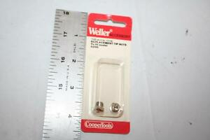 1 Pair Weller 7325 Tip Nuts For Use With 8200 Soldering Gun