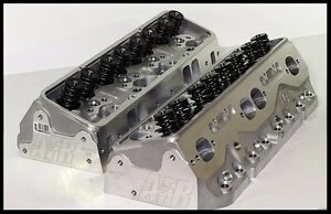 Afr Chevy Sbc 406 421 434 Eliminator Heads 220cc 65cc Fully Built 1065 Sr 65