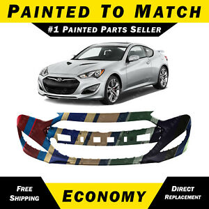 New Painted To Match Front Bumper For 2013 2015 Hyundai Genesis Coupe 2 Door
