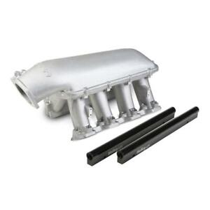 Holley Intake Manifold 300 123 Hi Tech Tunnel Ram Aluminum For Ls1 Ls2 Ls6