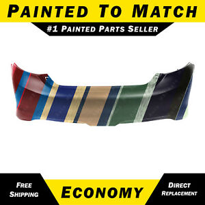 New Painted To Match Rear Bumper Cover For 2012 2014 Toyota Camry 5215906963