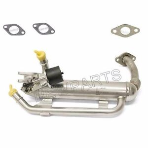 For Vw Jetta 2005 2006 Tdi Egr Cooler W Valve Gaskets Kit High Quality