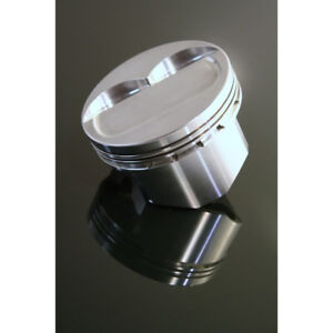 Dss Racing Piston Set 8173sx 4165 Sx 4 165 Bore Forged Dish For Chevy 400 Sbc