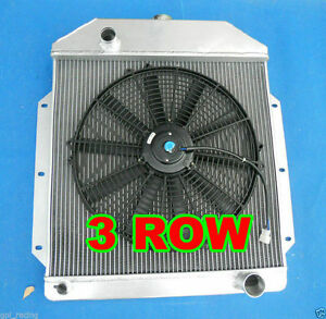 For 1949 1950 1951 1952 1953 Ford V8 Cars Aluminum Radiator Fan 49 50 51 52 53
